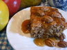 Apple Pudding Cake With Butterscotch Sauce. Recipe by Seasoned Cook