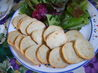 Blue  Cheese Wafers. Recipe by Seasoned Cook