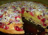 Cranberry and Almond Bakewell Tart: English Classic With a Twist. Recipe by French Tart