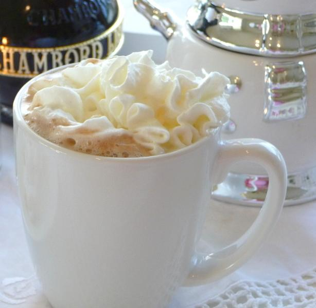 Chambord Hot Cocoa. Photo by BecR