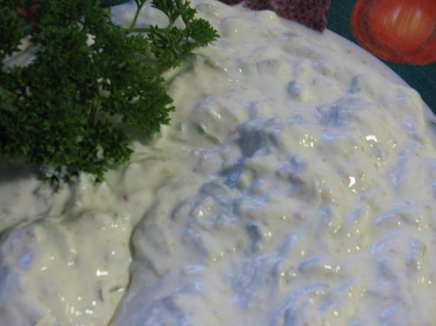 World's Best Raita. Photo by Leggy Peggy