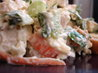 Veggie Packed Cheesy Chicken Salad (Reduced Fat). Recipe by Sarah_Jayne