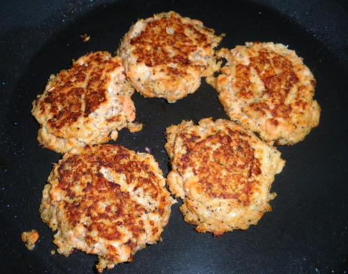 Salmon Cakes. Photo by Bergy