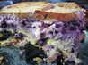 Blueberry Cream Cheese Stuffed Baked French Toast