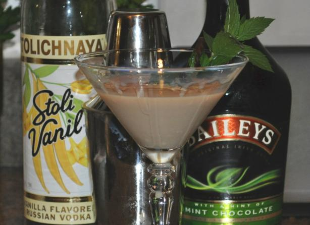 Baileys Mint Chocolate Martini. Photo by KateL