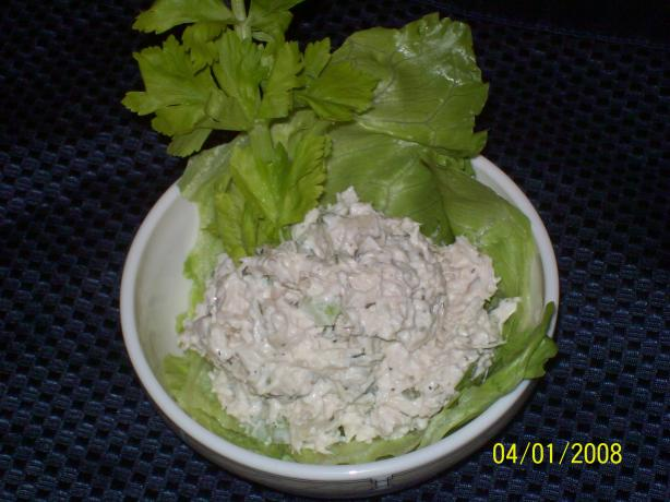 Easy but Delicious Chicken or Turkey Salad. Photo by AZPARZYCH