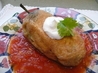 Chiles Rellenos With Tomato Sauce. Recipe by cookiedog