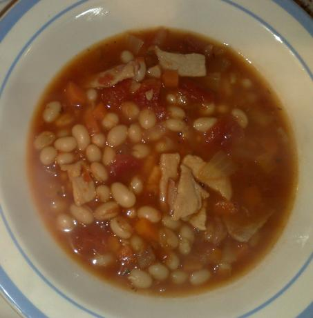Bean & Bacon Soup. Photo by Shuzbud