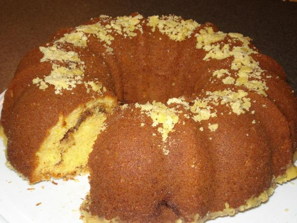 Easy Cake Mix Coffee Cake (Also Known As Breakfast Cake). Photo by Muffin Goddess