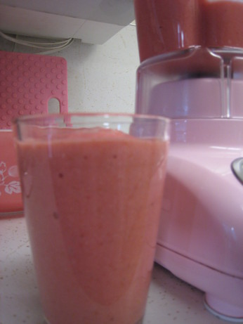 Strawberry Ginger Smoothie. Photo by hisfavoritemavis