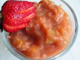 Strawberry-Rhubarb Applesauce