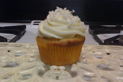 Italian Cream Cupcakes. Photo by Hannah Marie