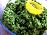 Broccoli Pesto for Bread or As Side Dish