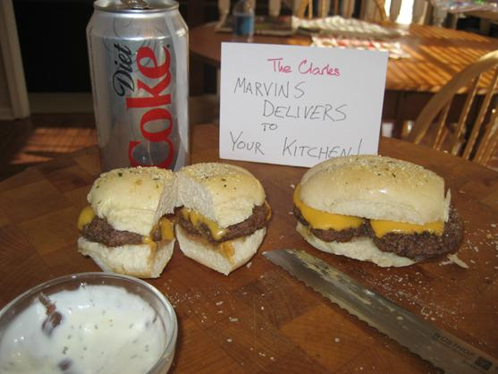 Marvin's Gcb Mini's (Garlic Cheeseburgers). Photo by TCSmoooth