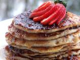 Berry Nice Honey Pecan Pancakes