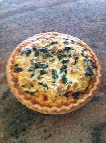 Spinach Artichoke Quiche. Photo by Dallas Chef W/Out Time