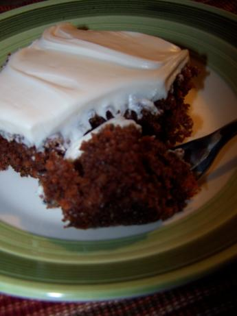 Carrot Cake With Cream Cheese Icing. Photo by barefootmommawv
