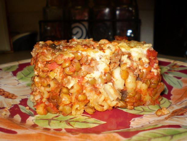 Vegetarian Pastitsio. Photo by TasteTester