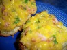 Creamed Corn, Parsley & Bacon on Muffins. Recipe by **Mandy**