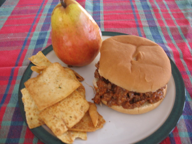 "Kid Friendly Sloppy Joes (""no Green Stuff""). Photo by Chicagoland Chef du Jour"