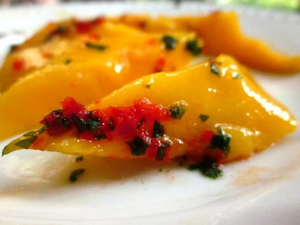 Mango Kerabu (Spicy Sweet Mango Salad). Photo by gailanng