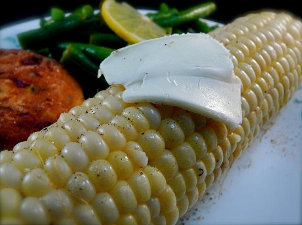 Corn on the Cob - Boiled. Photo by PaulaG
