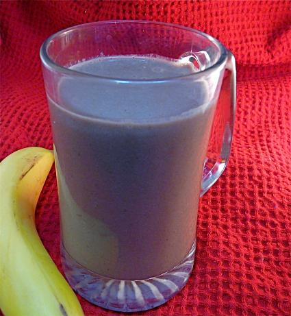 Chocolate Soymilk Banana Peanut Butter Smoothie. Photo by PaulaG