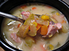 Smoked Turkey And Corn Chowder. Recipe by Dancer^