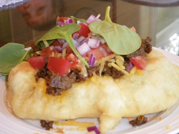 California Style Indian Fry Bread Tacos. Photo by Bonnie G #2