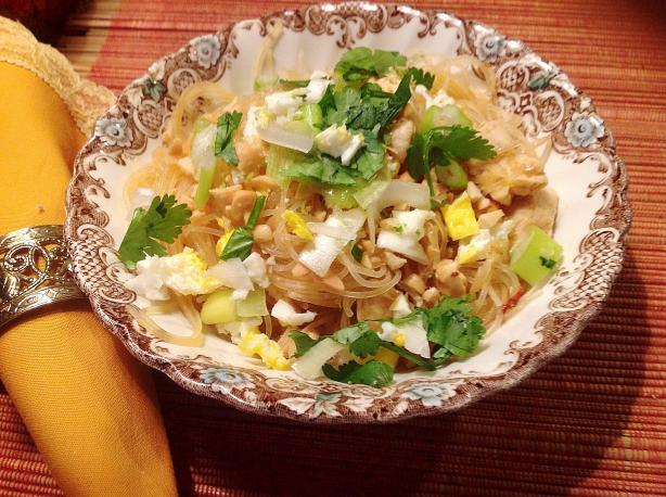 Bangkok Style Chicken Pad Thai. Photo by Miss Fannie