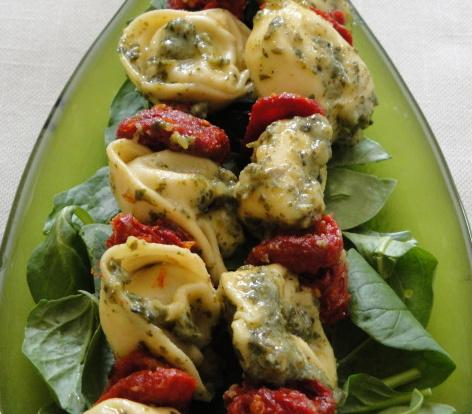 Tortellini Skewers. Photo by Debbwl