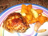Chicken Thighs With Roasted Sweet Potatoes &amp; Parsnips. Recipe by CookGordon