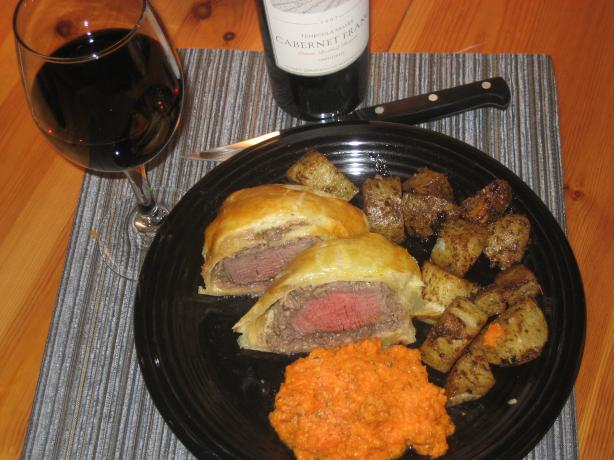 Hell's Kitchen Beef Wellington. Photo by wsmurray