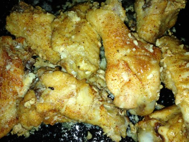 Garlic-Parmesan Chicken Wings. Photo by triholli_1972