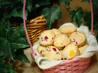 Raspberry Peach Muffins