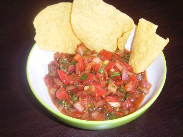 Gavacho's Pico Salsa. Photo by ROV Chef