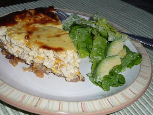 Chicken Pecan Quiche. Photo by CaliforniaJan