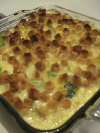 Corn and Broccoli Casserole. Photo by Chef #930801