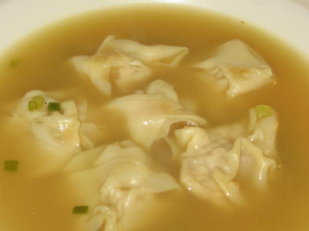Simple Won Ton Soup. Photo by K9 Owned