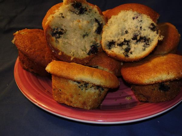 Grammy Mae's Blueberry Muffins. Photo by NoraMarie