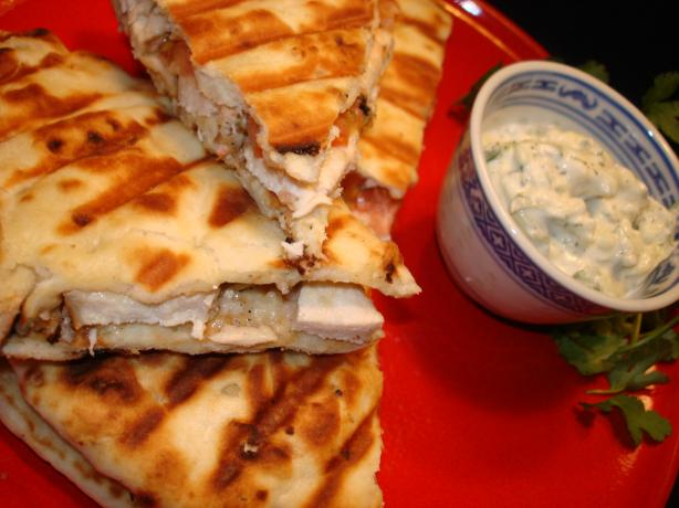 Won't You Be My Gyro Chicken Panini. Photo by Vicki in CT