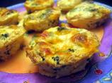 Broccoli & Cheddar Mini Quiches
