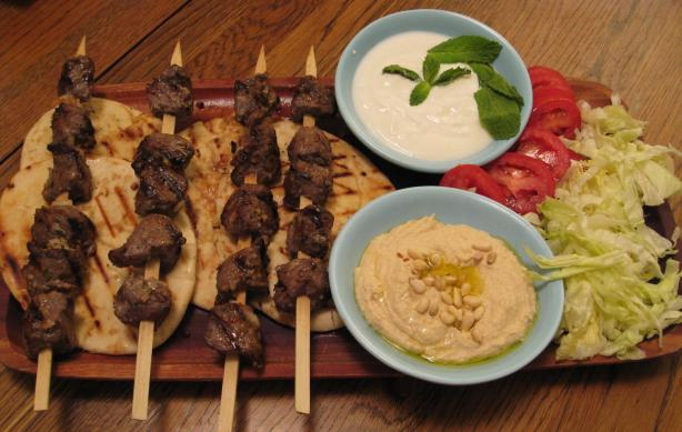 Lamb Souvlaki. Photo by BarbryT