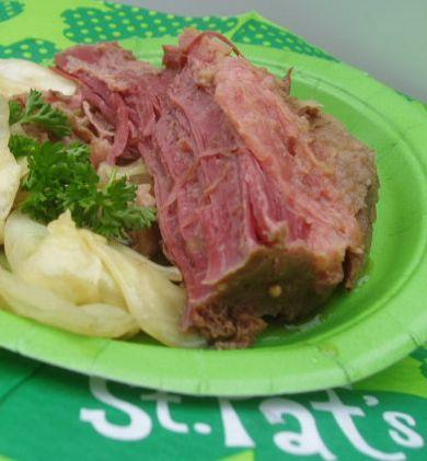 Corned Beef With Guinness. Photo by Bay Laurel