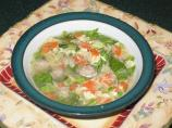 Italian Wedding Soup, (Low Sodium)