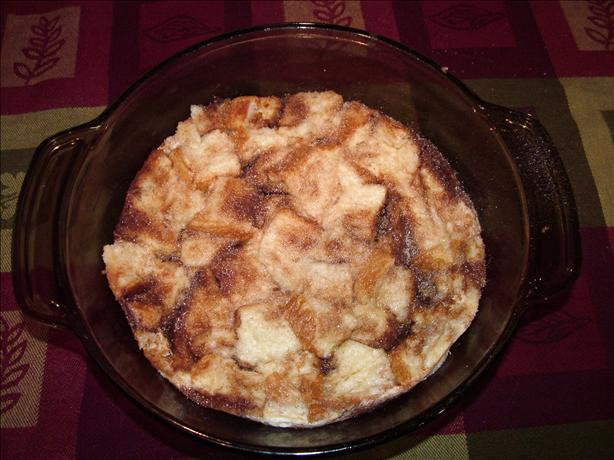 Bread Pudding in the Microwave. Photo by Recipe Girl