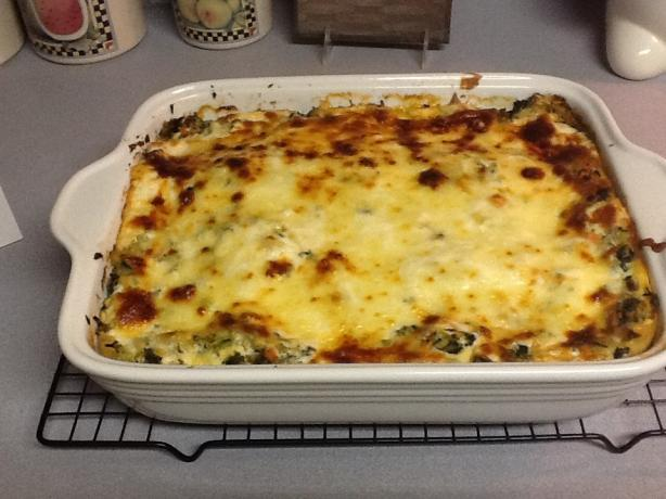 Vegetable Lasagna With White Sauce. Photo by Virginia Es