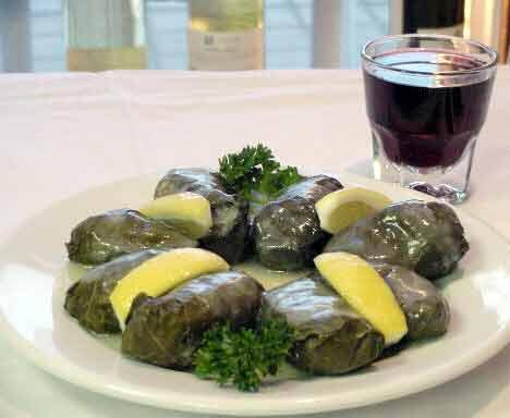 Dolmades (Stuffed Grape Leaves). Photo by Gillian Spence