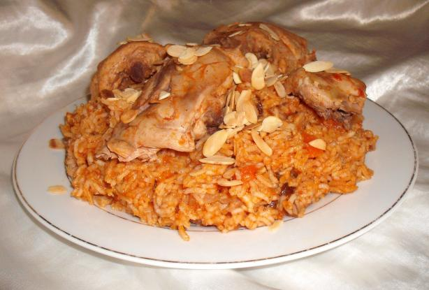Al Kabsa - Traditional Saudi Rice (& Chicken) Dish. Photo by Um Safia
