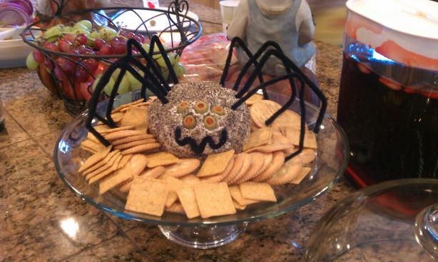 Cheese Ball - Great for Halloween. Photo by lpatton98